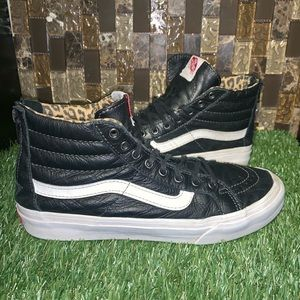 Vans Classic with Leopard Interior
